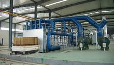 Batch type kiln for ceramic rollers 1650°C